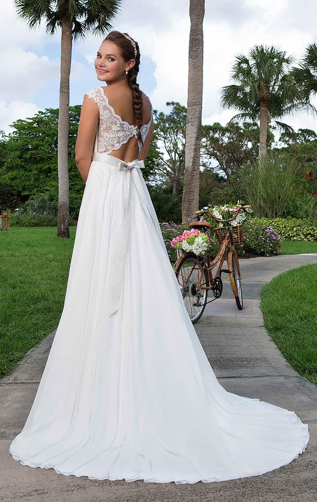 Sincerity 6116 \'Angelica\' Beautiful chiffon A line wedding dress ...