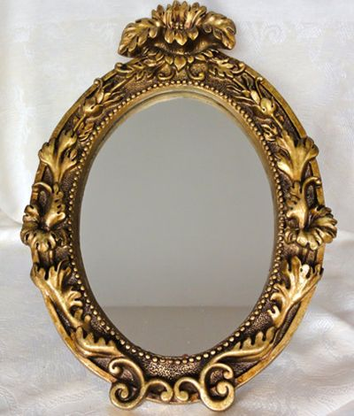 Decorative Gold Mirrors. Oval Gold Mirror  32 Old Amsterdam For My Future Humble Abode