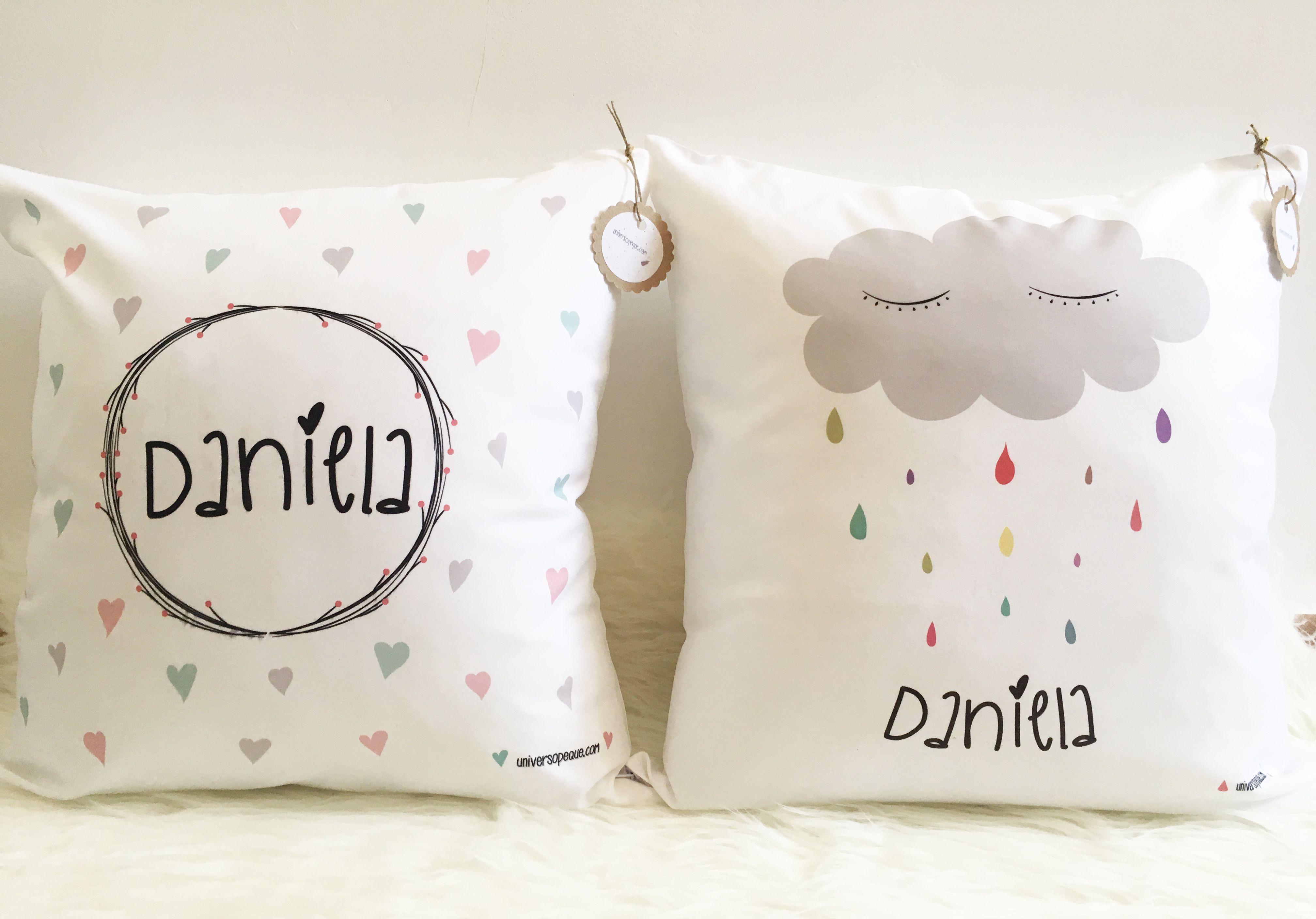 almohada personalizada df