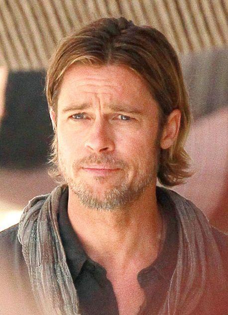 Photo Of Brad Pitt Hair In World War Z Brad Pitt Brad Pitt Hair Brad Pitt And Angelina Jolie