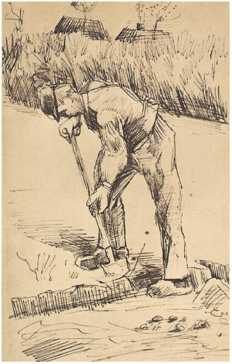 vincent van gogh letter sketches etten october 1881 van gogh museum amsterdam