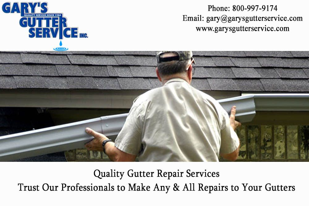 Quality Gutter Repair Services Trust Our Professionals To Make Any All Repairs To Your Gutters Gutterservices Gutter Gutter Repair Gutter Roofing Services