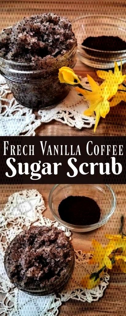 Coffee Sugar Scrub Making your own sugar scrub is so simple, that there really is no reason not to