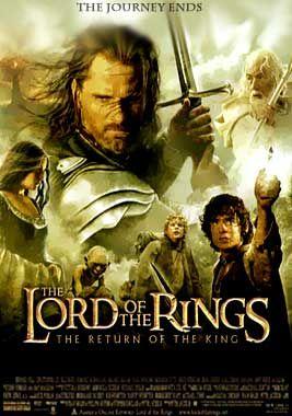Senhor Dos Aneis O Retorno Do Rei Lord Of The Rings Return