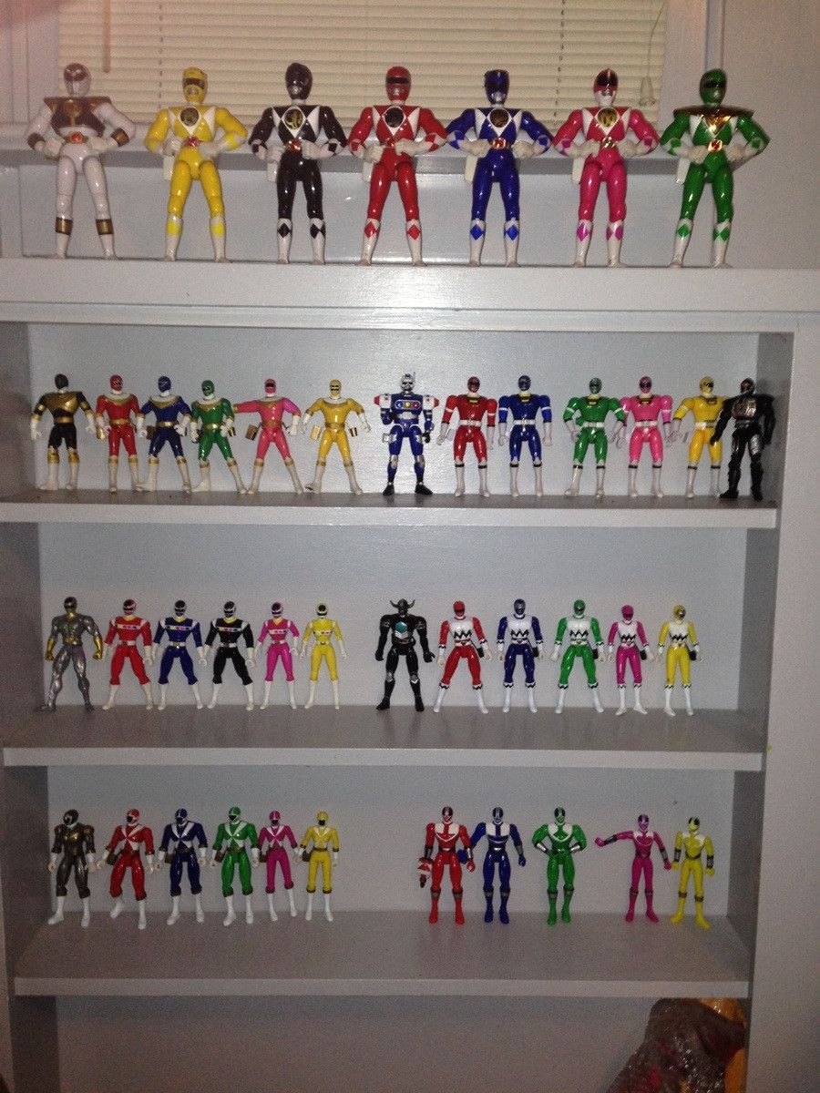 Power Rangers Bedroom: Power Rangers Collection