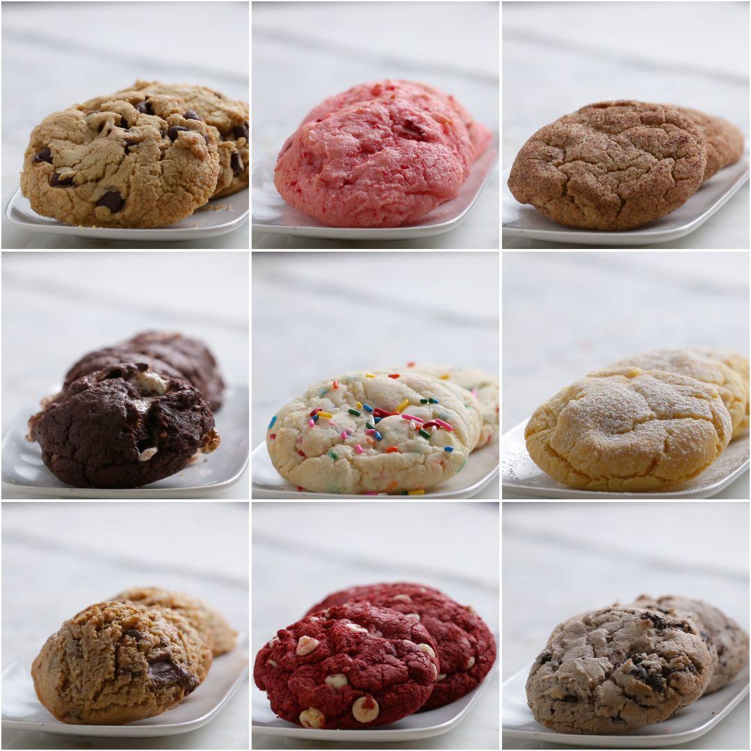 Photo of 9 Maneras de preparar galletas con mezcla para pastel