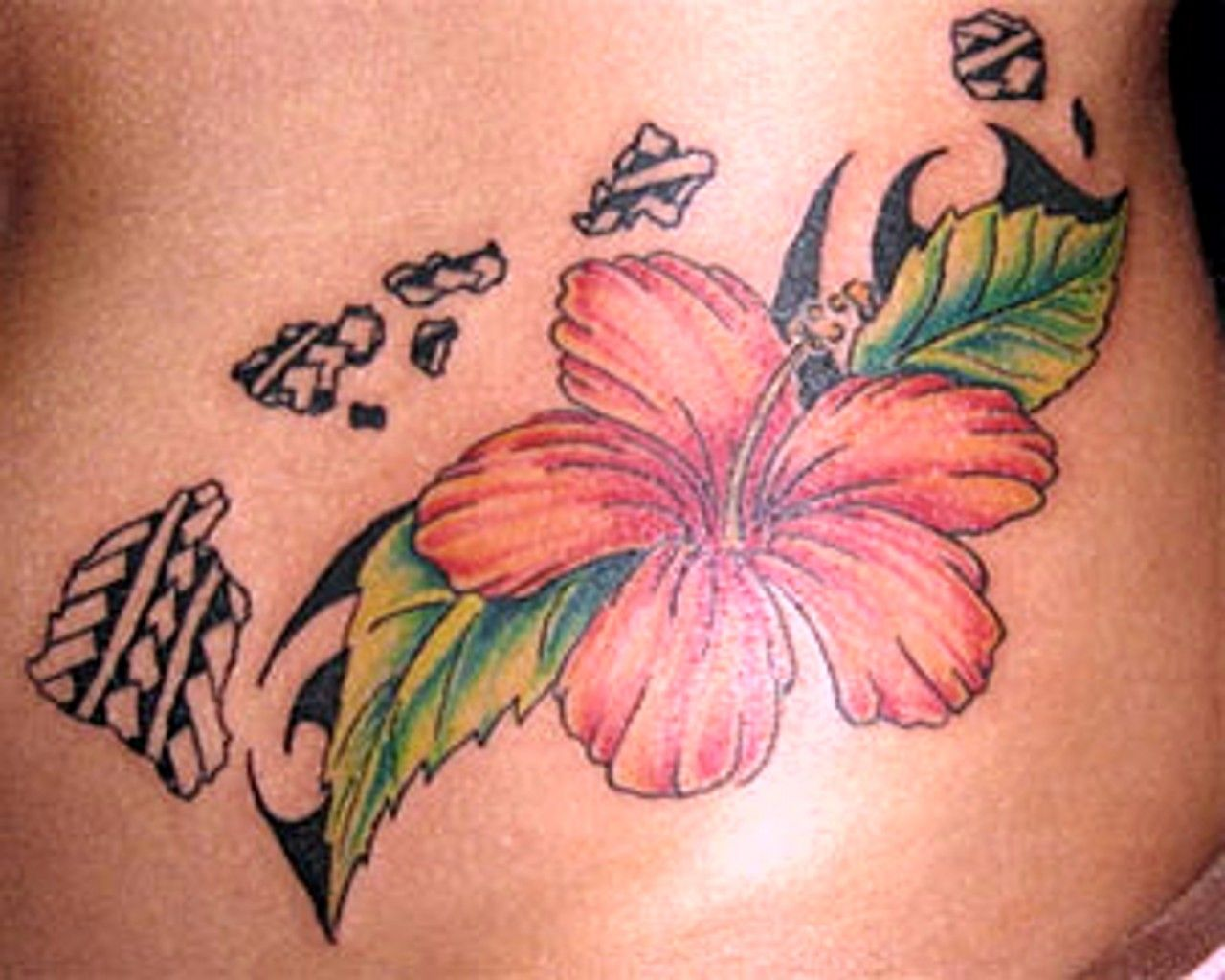 Image detail for 2011 new flower tattoo designs new hawaiian flower hawaii flower tattoos izmirmasajfo