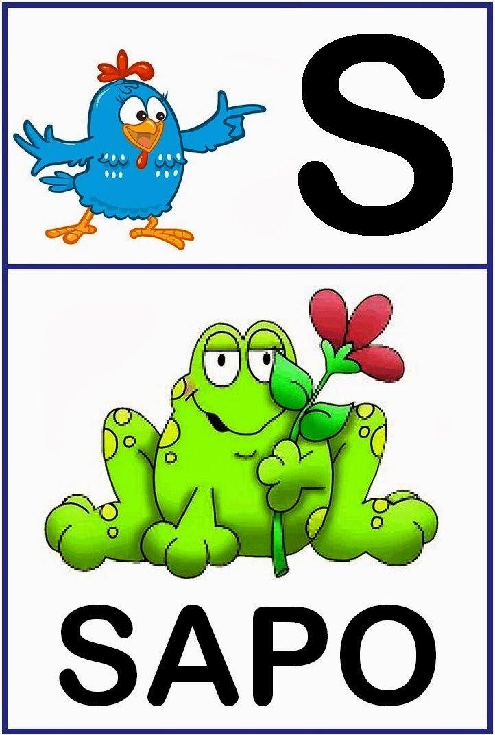 Aprender Brincando: Alfabeto ilustrado Galinha Pintadinha
