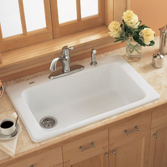 Medium image of 6 top american standard americast kitchen sink