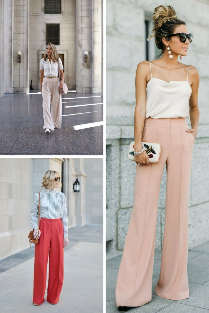 Wide Leg Pants Outfits 2018 2 Guest Outfit Wedding Outfit Chic Woman