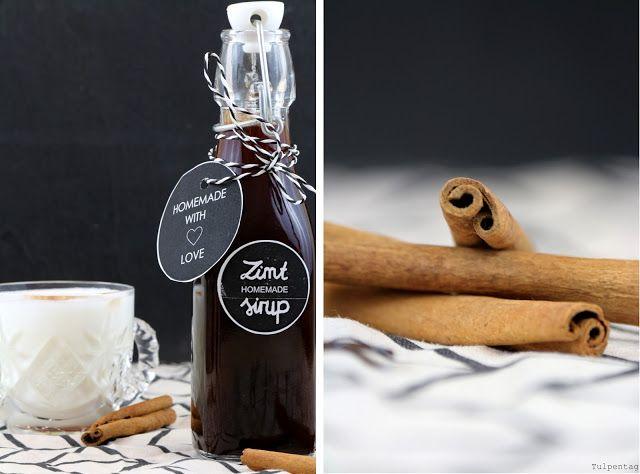 Zimtsirup Geschenk Aus Der Kuche Tulpentag Foodblog Zimtsirup Geschenke Aus Der Kuche Sirup