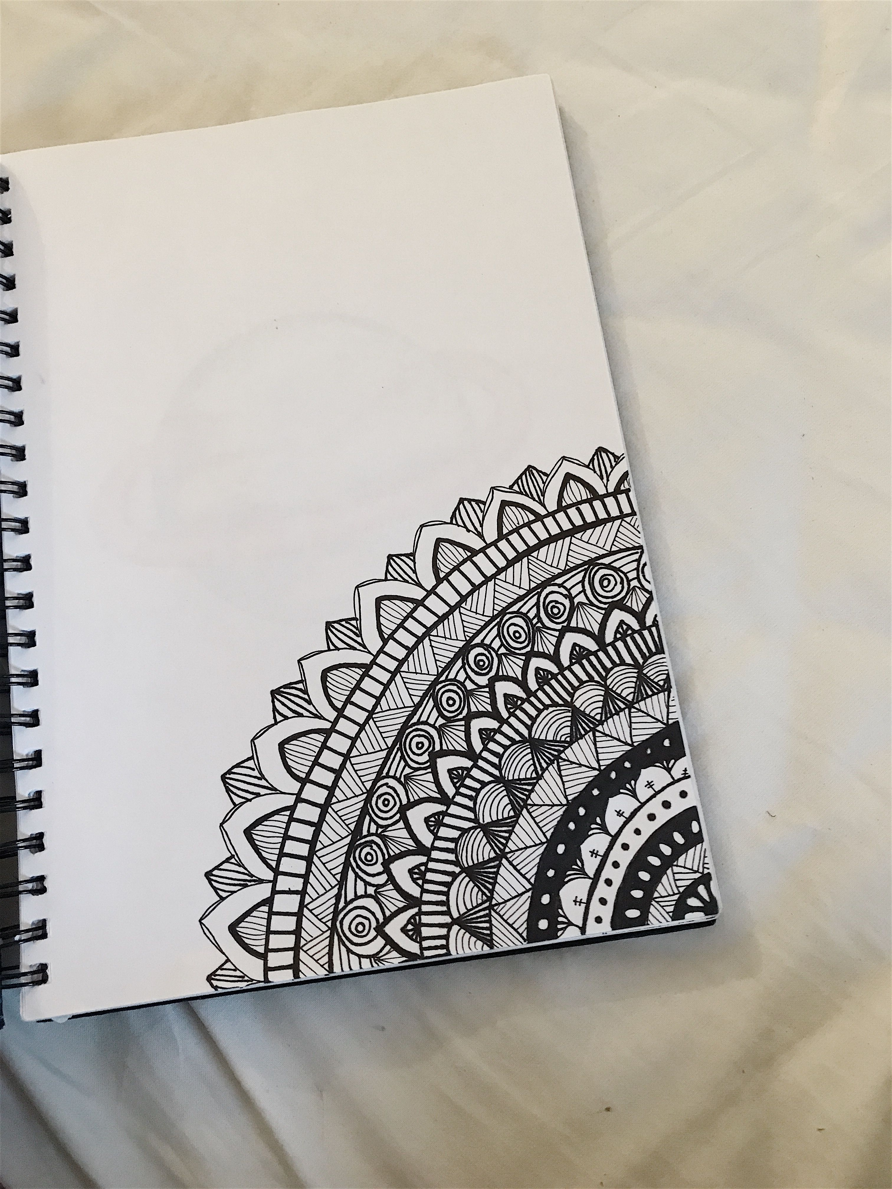 #drawing #mandala #easy | My drawings | Pinterest ...