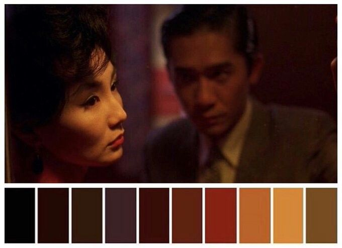 Kết quả hình ảnh cho in the mood for love color