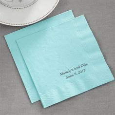 Tiffany Blue Napkins