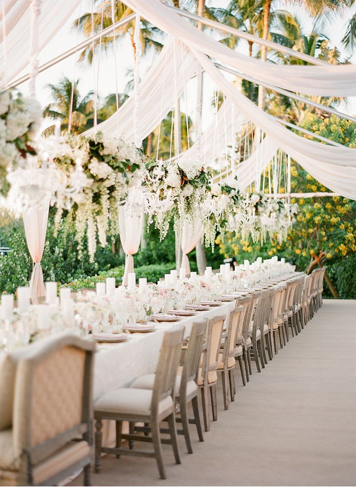 Wedding floral trends for 2015 floral chandelier banquet tables our muse green and pink wedding be inspired by susan and owens green and pink wedding in naples florida ceci new york wedding junglespirit Images
