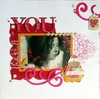 Love the scroll stamp and the stuff in the upper rt corner.  A Project by fkenward26 from our Scrapbooking Gallery originally submitted 01/13/12 at 09:52 PM