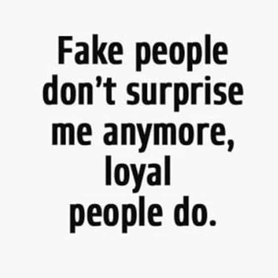 60 Fake Friends Quotes