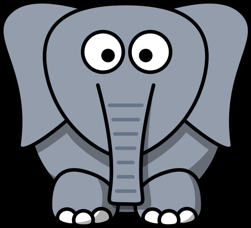 free cartoon elephant clip art clipart best clipart best first rh pinterest com au clipart of elephant trunk clipart of elephant for colouring
