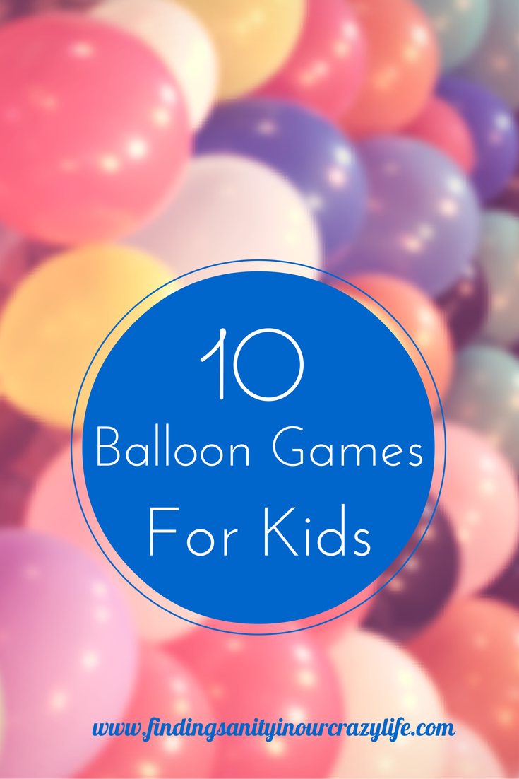 10 fun balloon games for kids balloon games yard party and kids
