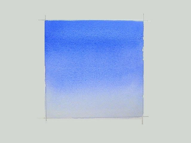 Painting a Graded Watercolor Wash. This site has a lot of good watercolor tutorials for beginners.