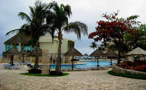 Pool area at Grand Park Royal Cancun Caribe