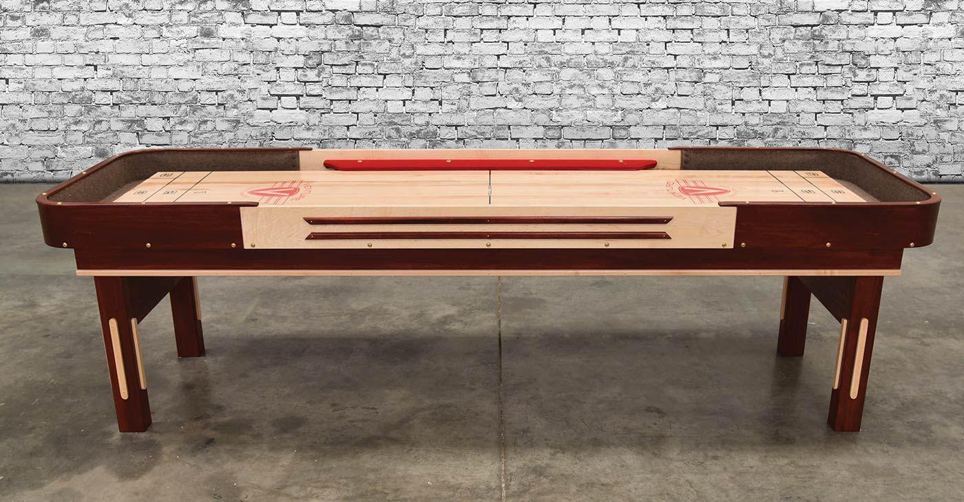 Venture 9 Grand Deluxe Bank Shot Shuffleboard Table