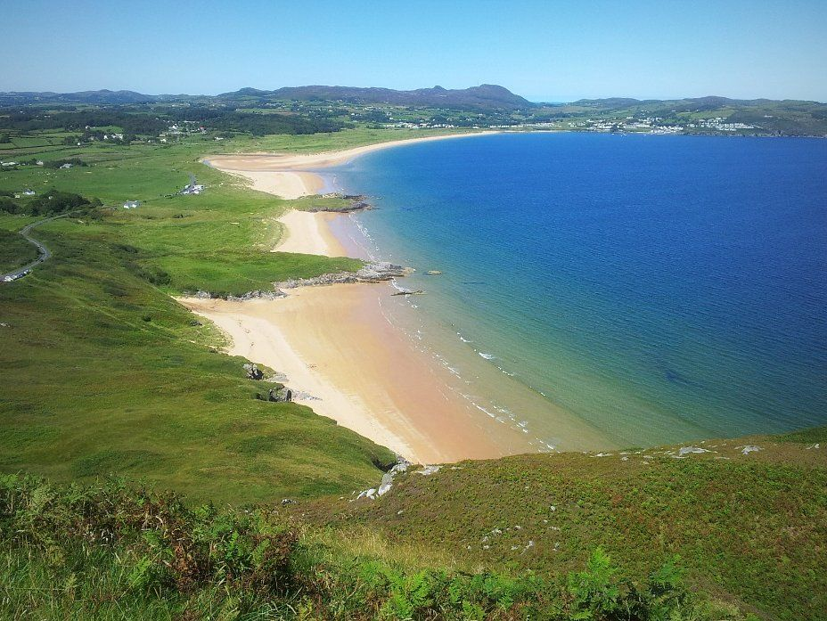 Ballymastocker Bay Beach Portsalon Lough S Donegal A Wonderful Place To Stroll