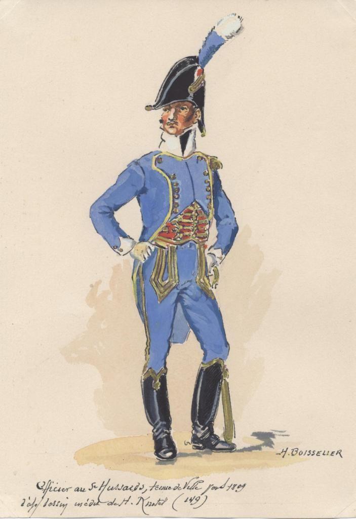french 5th hussars officer tenue de ville 1805 by boisselier imperial horsemen pinterest. Black Bedroom Furniture Sets. Home Design Ideas