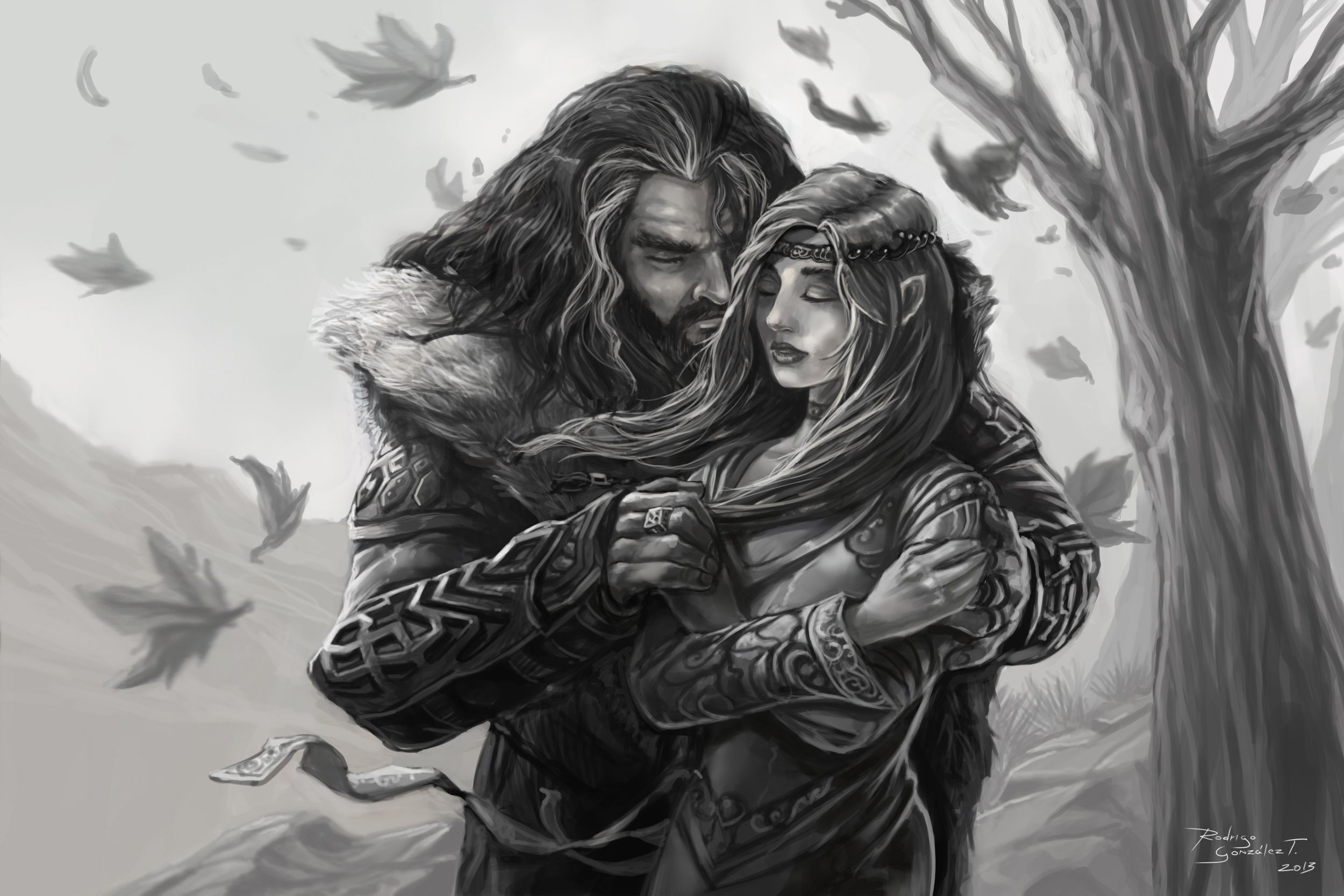 Thorin's Heart (for Laura) hope this makes you smile my