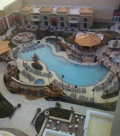 Winstar World Hotel Thackerville Ok And Resort Pool 2 Area