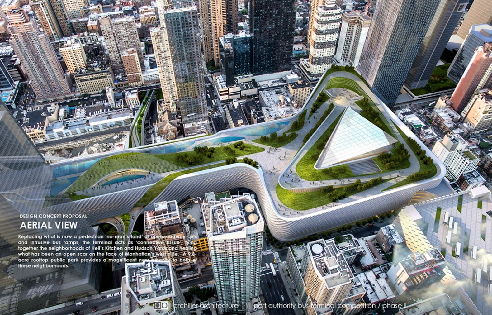 Port Authority Bus Terminal Gets Five Futuristic Makeovers By Top
