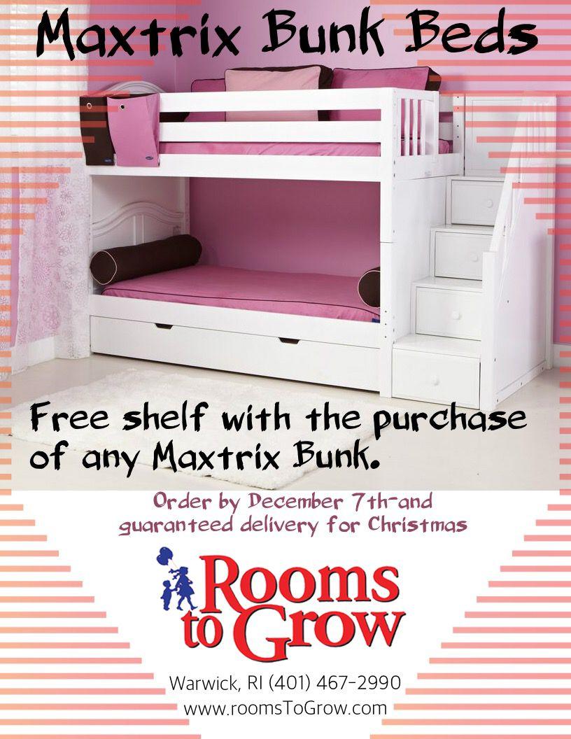 RTG Specials: Maxtrix Bunk Beds Special
