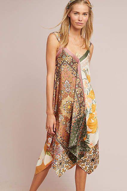 59ba83f37999 Tiny Sebou Scarf-Printed Dress #ad #AnthroFave #AnthroRegistry Anthropologie  #Anthropologie #