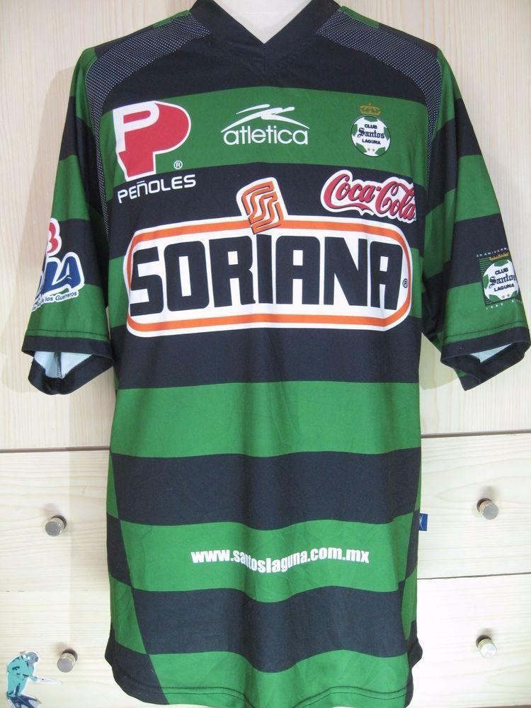 96ee3304e SANTOS LAGUNA MEXICO LIGA MX 2004 HOME FOOTBALL SHIRT SOCCER JERSEY VINTAGE  XXL