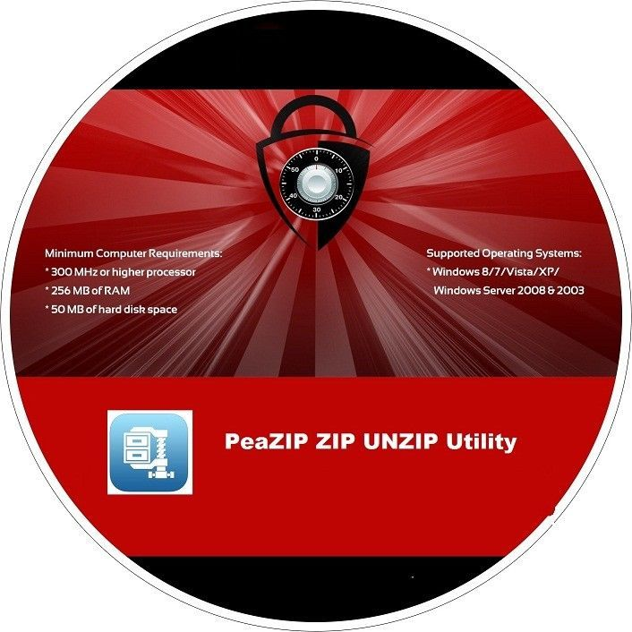 Details about PeaZIP ZIP , UNZIP , RAR , UNRAR utility CD | Software