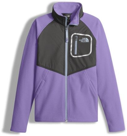 0cc9cba849 The North Face Girl s Glacier Track Jacket Paisley Purple S
