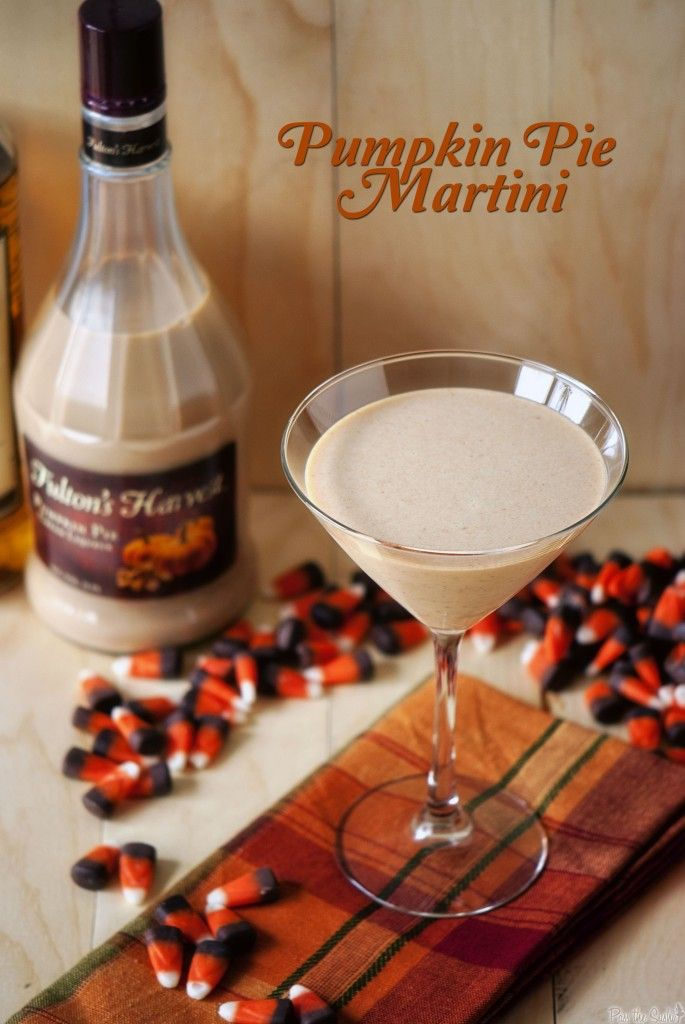 Pumpkin Pie Martini great for the holidays