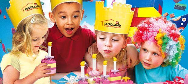 Birthday Party At LEGOLAND Discovery Center Arizona Skylers - Children's birthday party atlanta