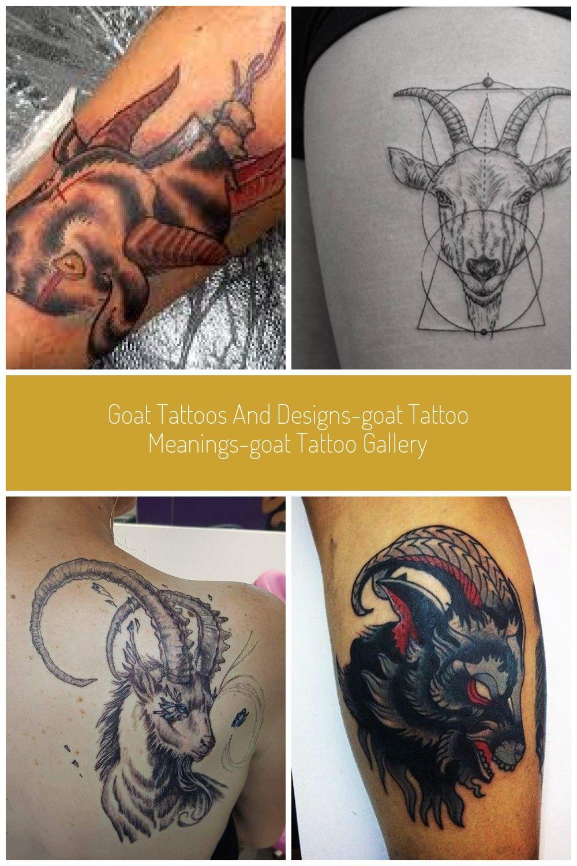 Goat Tattoo Meaning : tattoo, meaning, Tattoos, Designs-Goat, Tattoo, Meanings-Goat, Gallery, #goats, Meaning,, Gallery,
