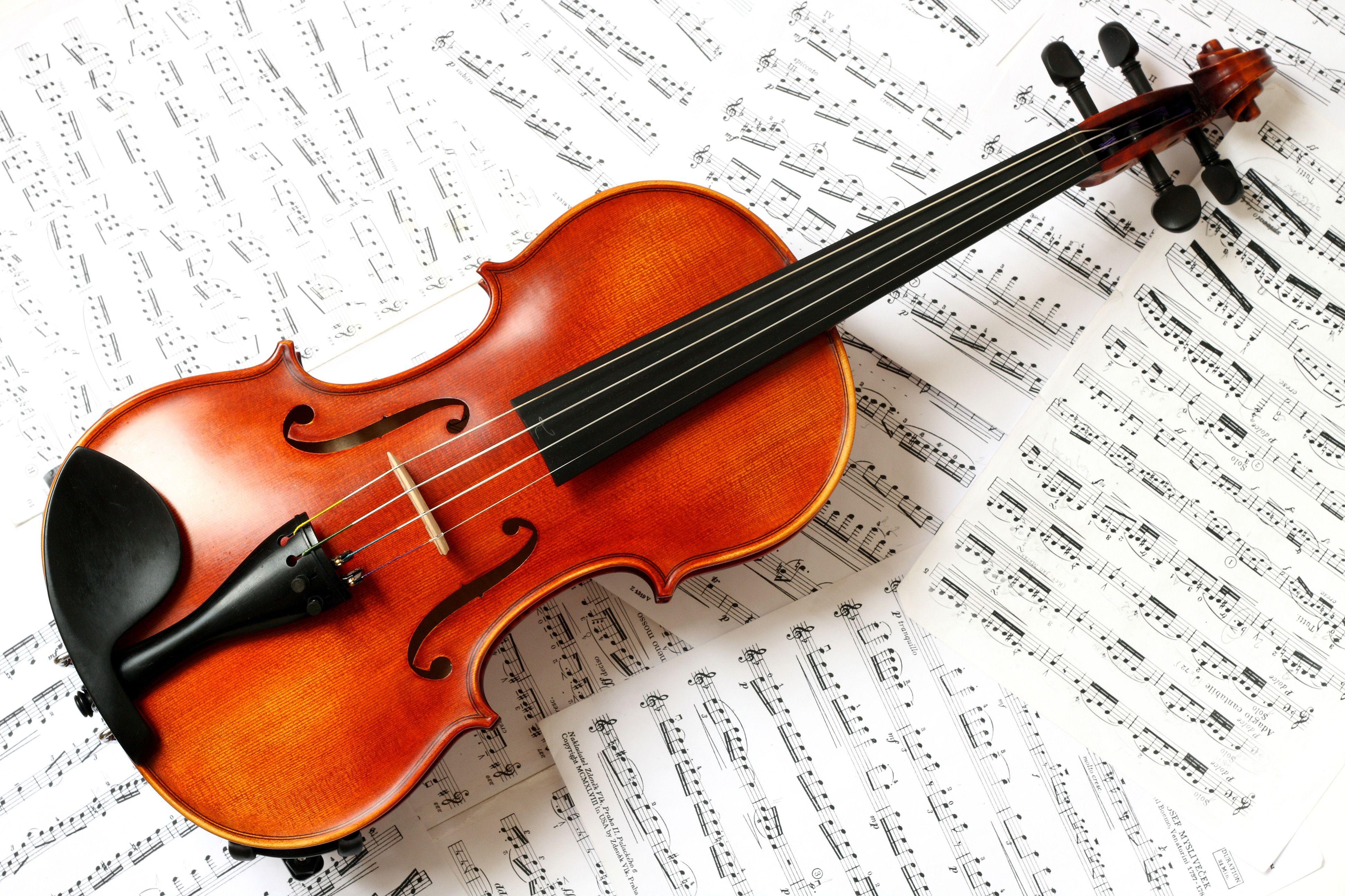 Обои музыка, скрипка. Музыка foto 11