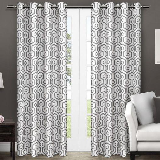 Amalgamated Textiles USA Exclusive Home Curtain Panel | AllModern