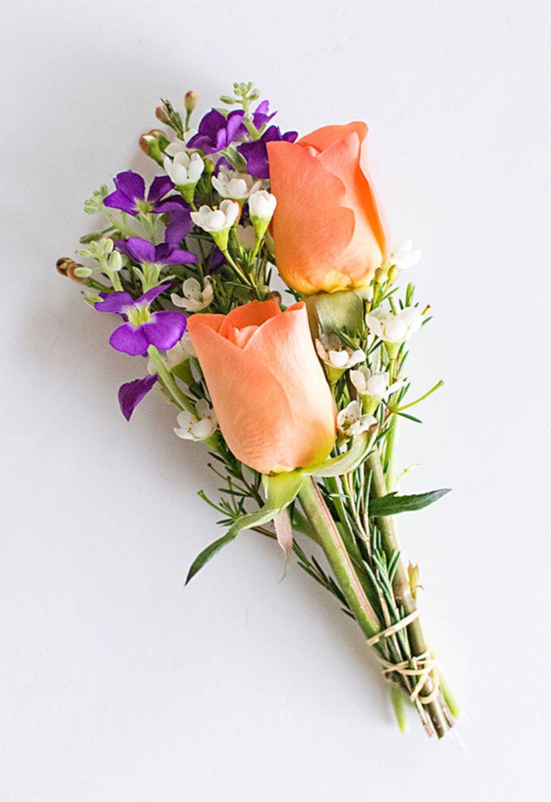 DIY mini Flower Bouquets Flower packaging, Small bouquet