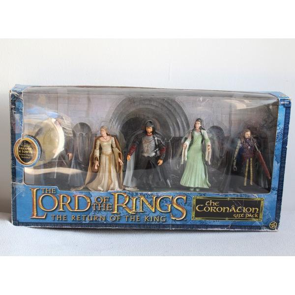 Coffret 5 Figurines Le Seigneur Des Anneaux Toy Biz Le Retour Du Roi Collection Seigneur Des Anneaux Figurine De Collection Seigneur