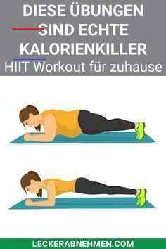 Die 10 besten HIIT-Übungen für zu Hause - mit einem Trainingsplan - Sport Die 10 besten HIIT-Übungen...