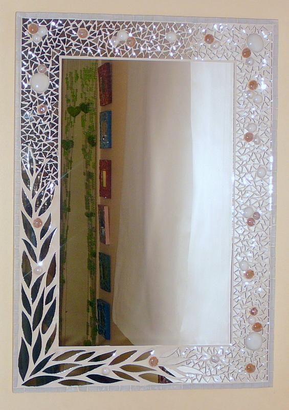 Mosaiquismo de laureles mosaico mosaiquismo espejos for Decoracion con espejos cuadrados