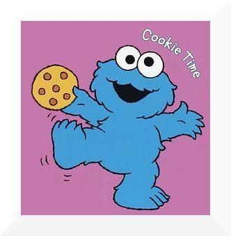 a cookiemonster stencil