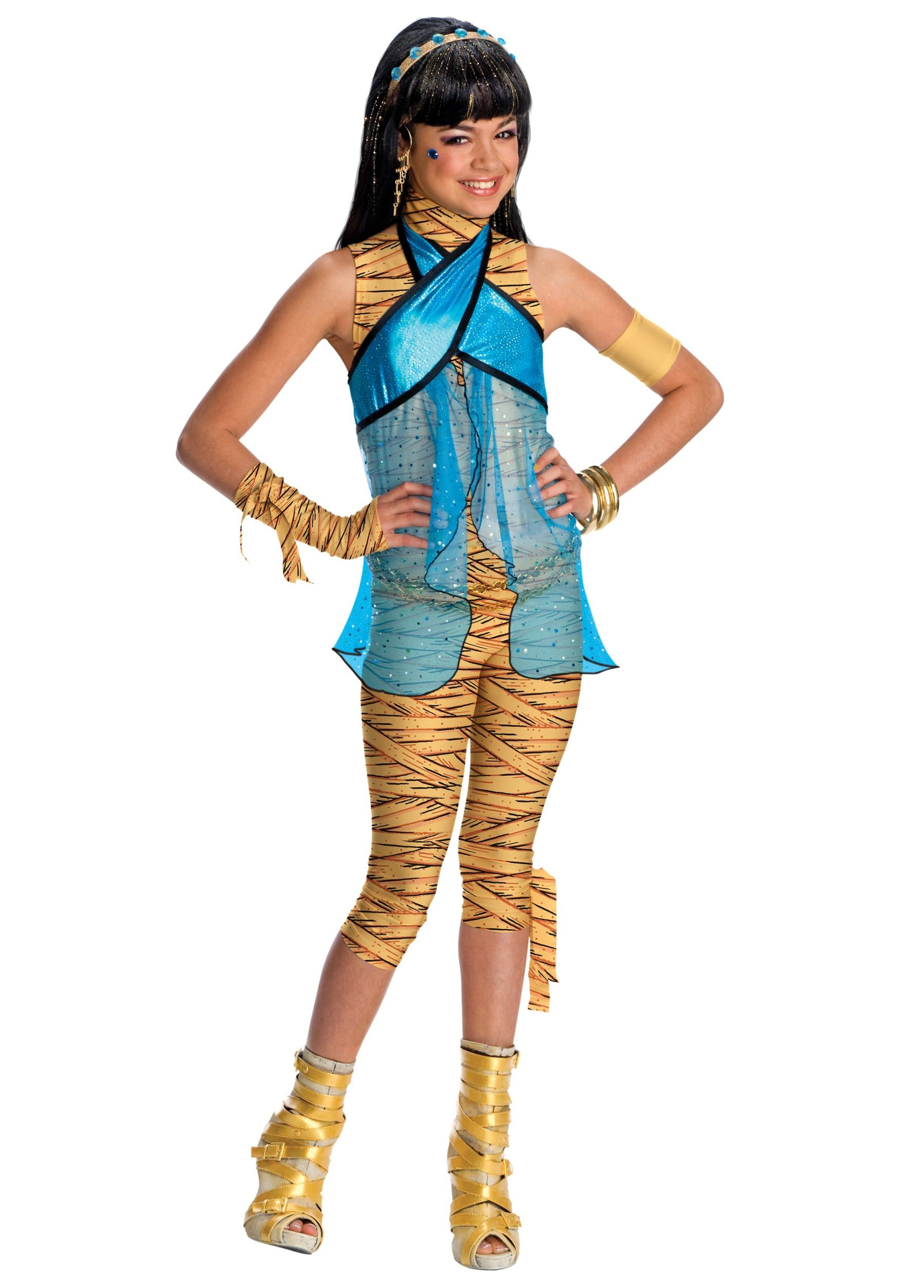 Cleopatra Makeup For Kids How