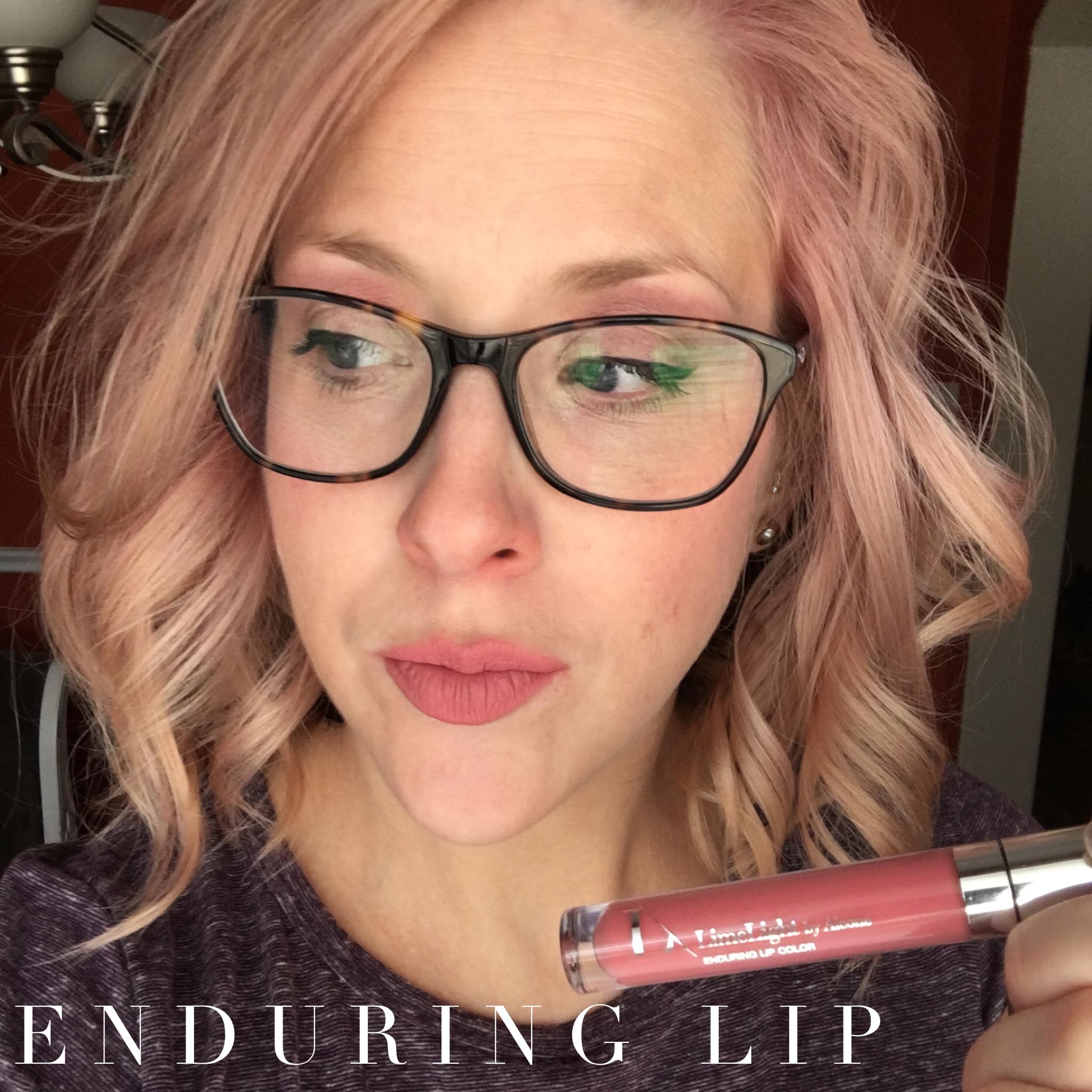 Enduring Lip Color CREME Brûlée Makeup palette, Lip
