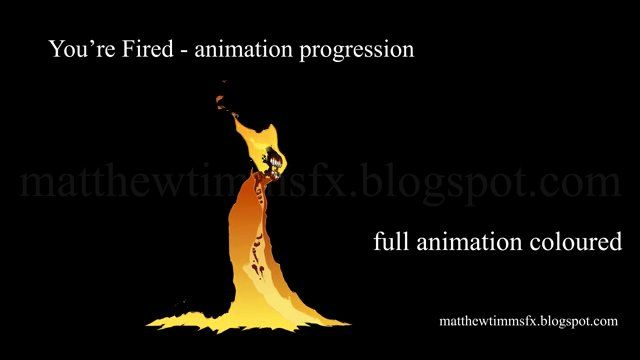 You're Fired - animation progression on Vimeo