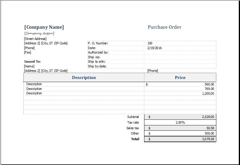 Purchase Request Form Template Download At HttpWwwXltemplates